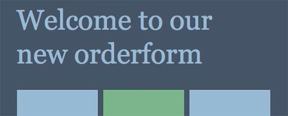 Food Orderform 2014